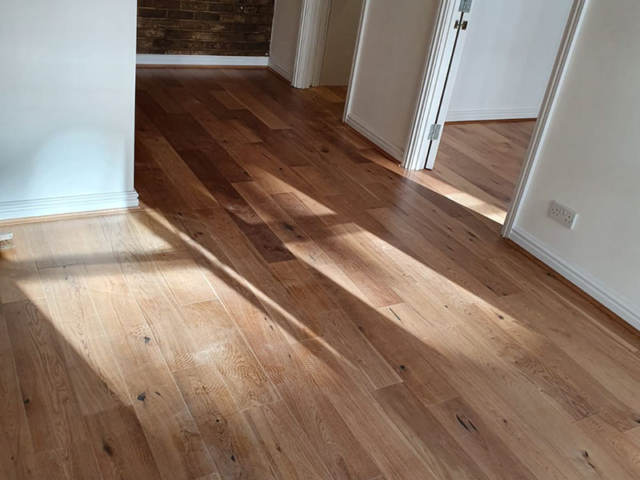 Xylo Wood Flooring Installed In Hammersmith