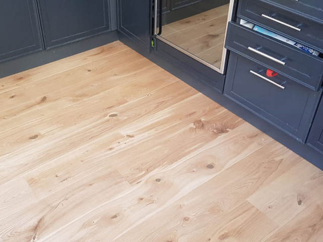 Staki Oak Wood Flooring Installed In Pimlico
