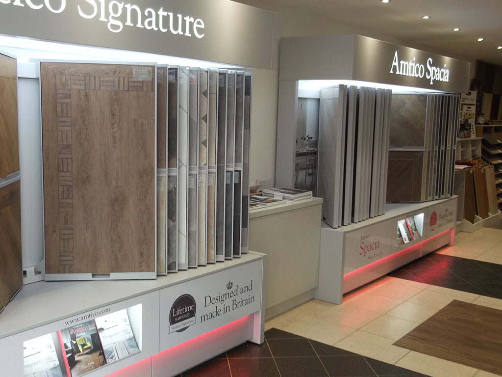 New Amtico Stands For Our Showroom in Kensington (1)