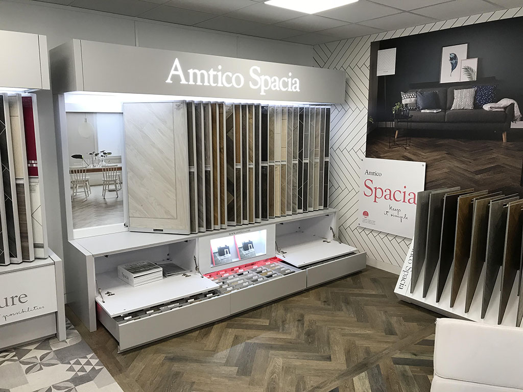 New Amtico Stands For Our Showroom in Kensington (2)