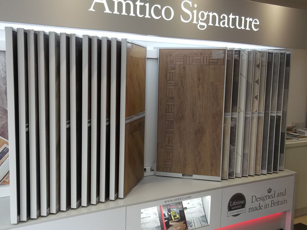 New Amtico Stands For Our Showroom in Kensington (6)