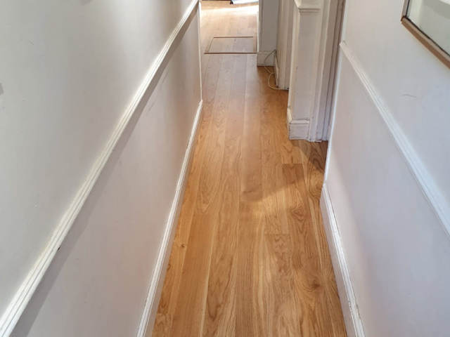 Boen Oak Wood Flooring Installation in Hammersmith