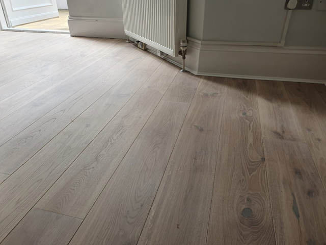 Staki Engineered Wood Flooring Installed in Stoke Newington