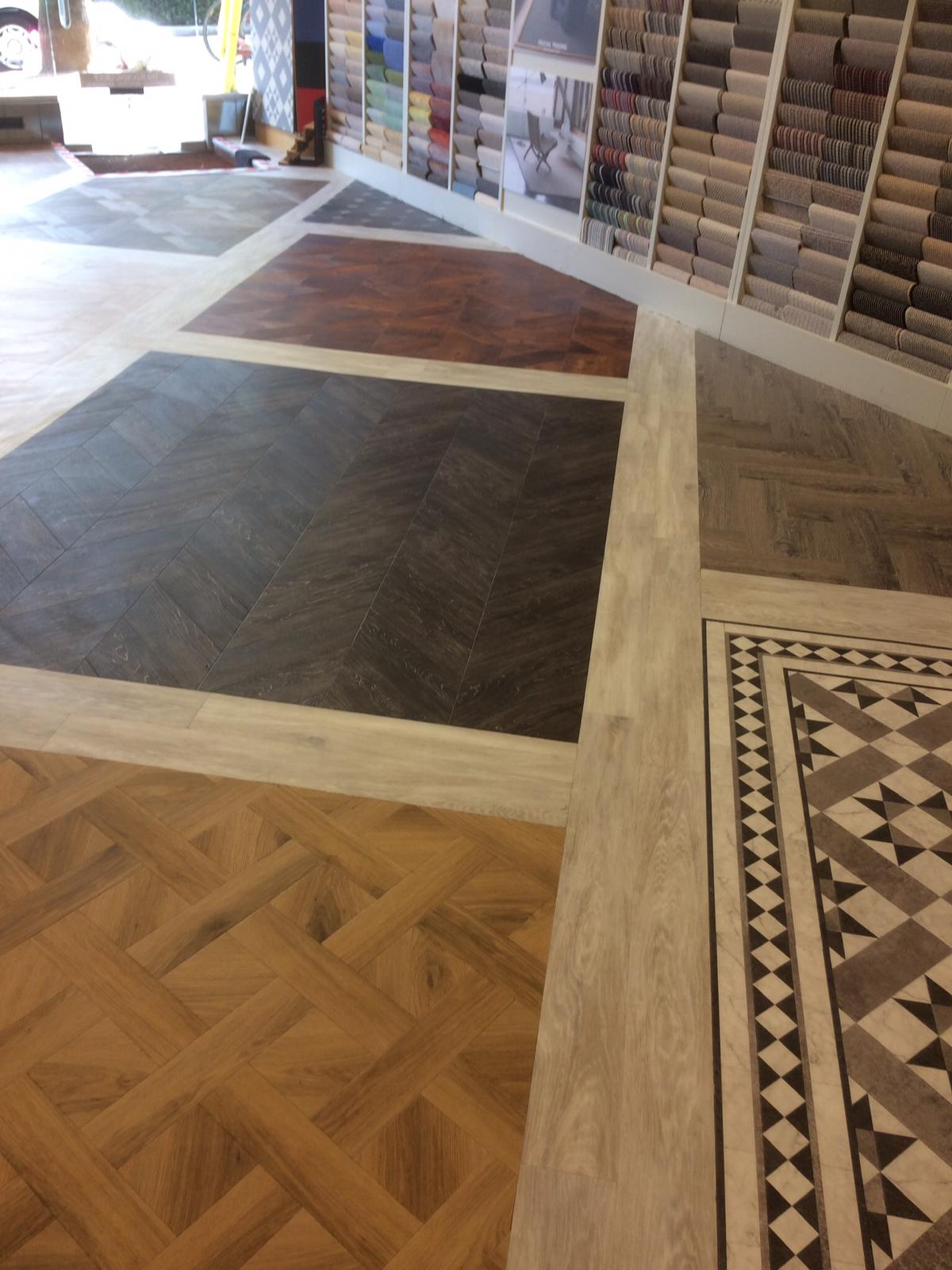 portfolio smooth floors New Amtico Vinyl Flooring in our Hampstead Showroom (1)