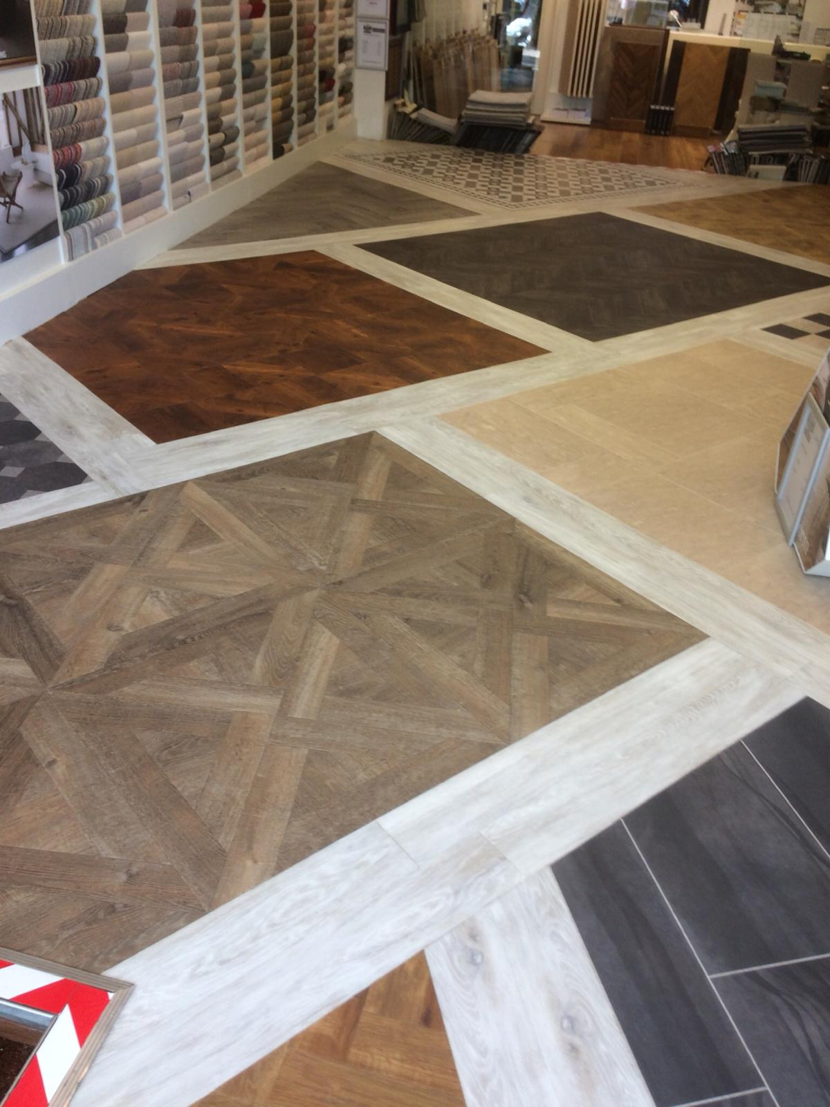 portfolio smooth floors New Amtico Vinyl Flooring in our Hampstead Showroom (10)