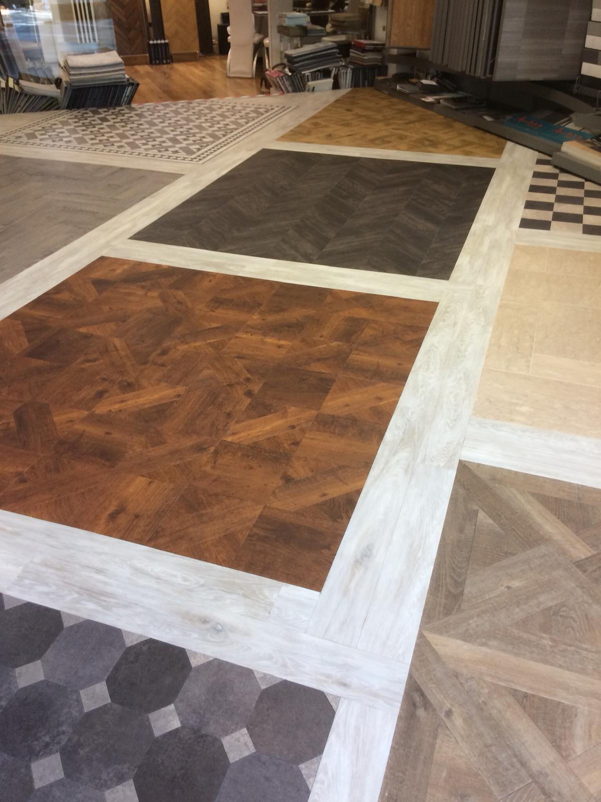portfolio smooth floors New Amtico Vinyl Flooring in our Hampstead Showroom (11)