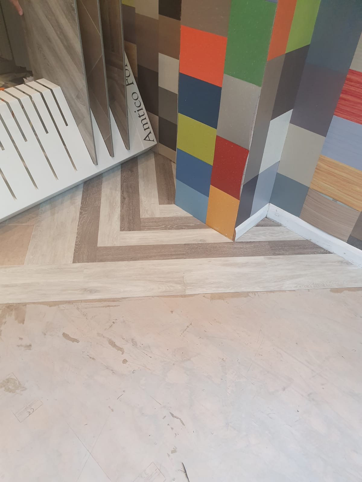 portfolio smooth floors New Amtico Vinyl Flooring in our Hampstead Showroom (3)