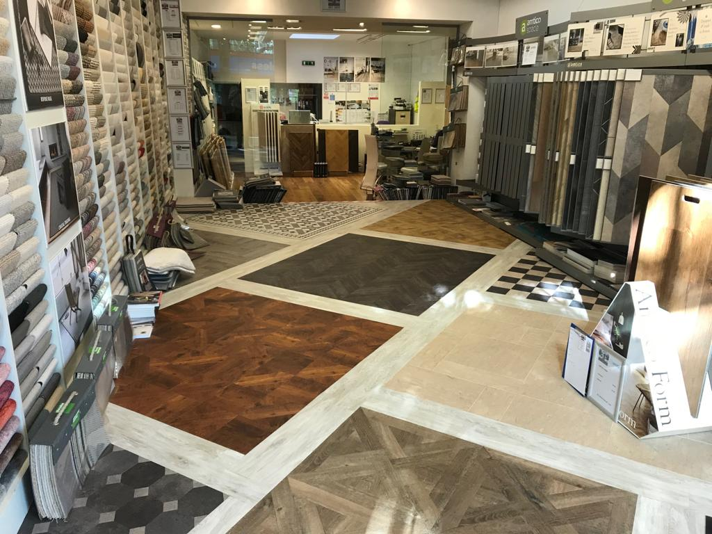 portfolio smooth floors New Amtico Vinyl Flooring in our Hampstead Showroom (6)