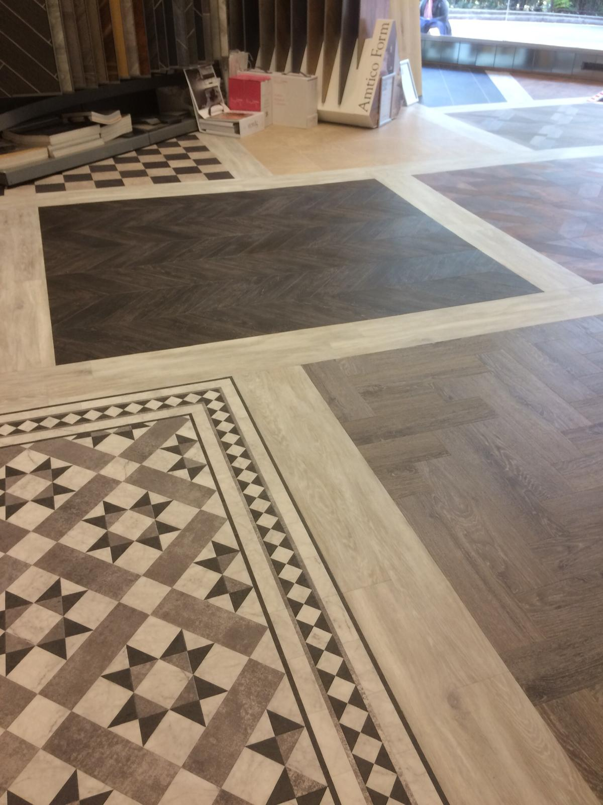 portfolio smooth floors New Amtico Vinyl Flooring in our Hampstead Showroom (8)