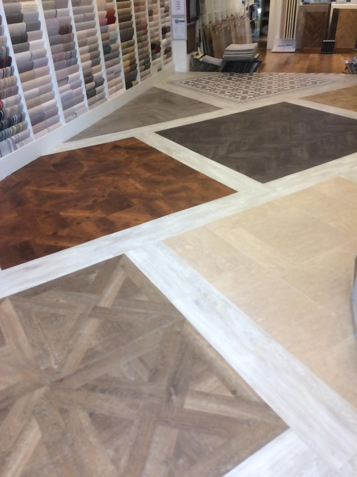 portfolio smooth floors New Amtico Vinyl Flooring in our Hampstead Showroom (9)