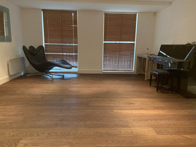Staki Wood Floor Installation in Brixton