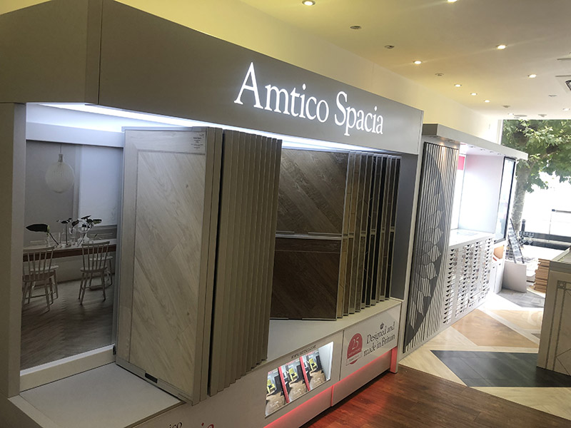 New Amtico Spacia stand at our Fulham & Chelsea Flooring showroom (2)