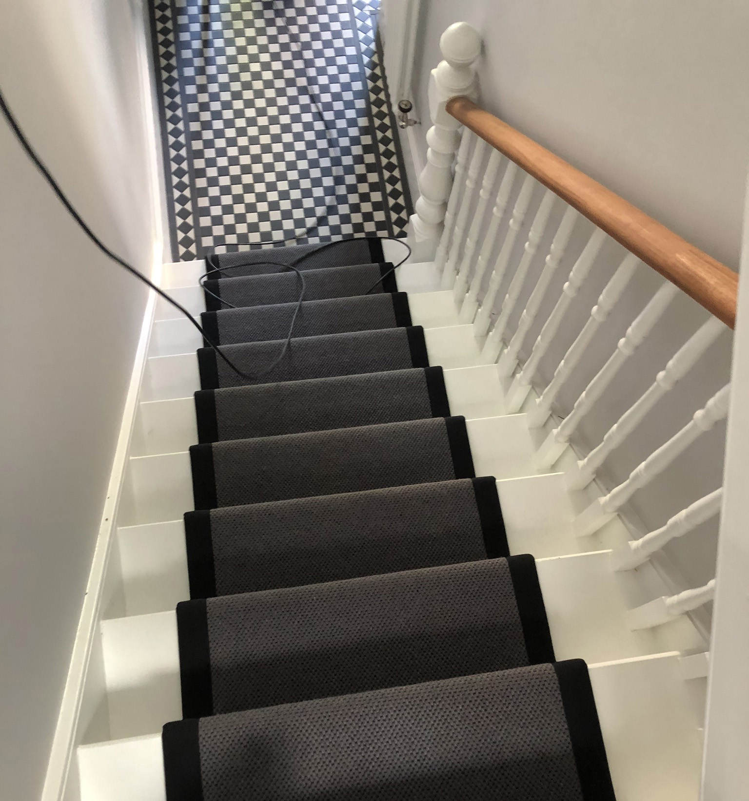 portfolio-Fibre Herringbone Wool Carpet Installed In Finchley (1)