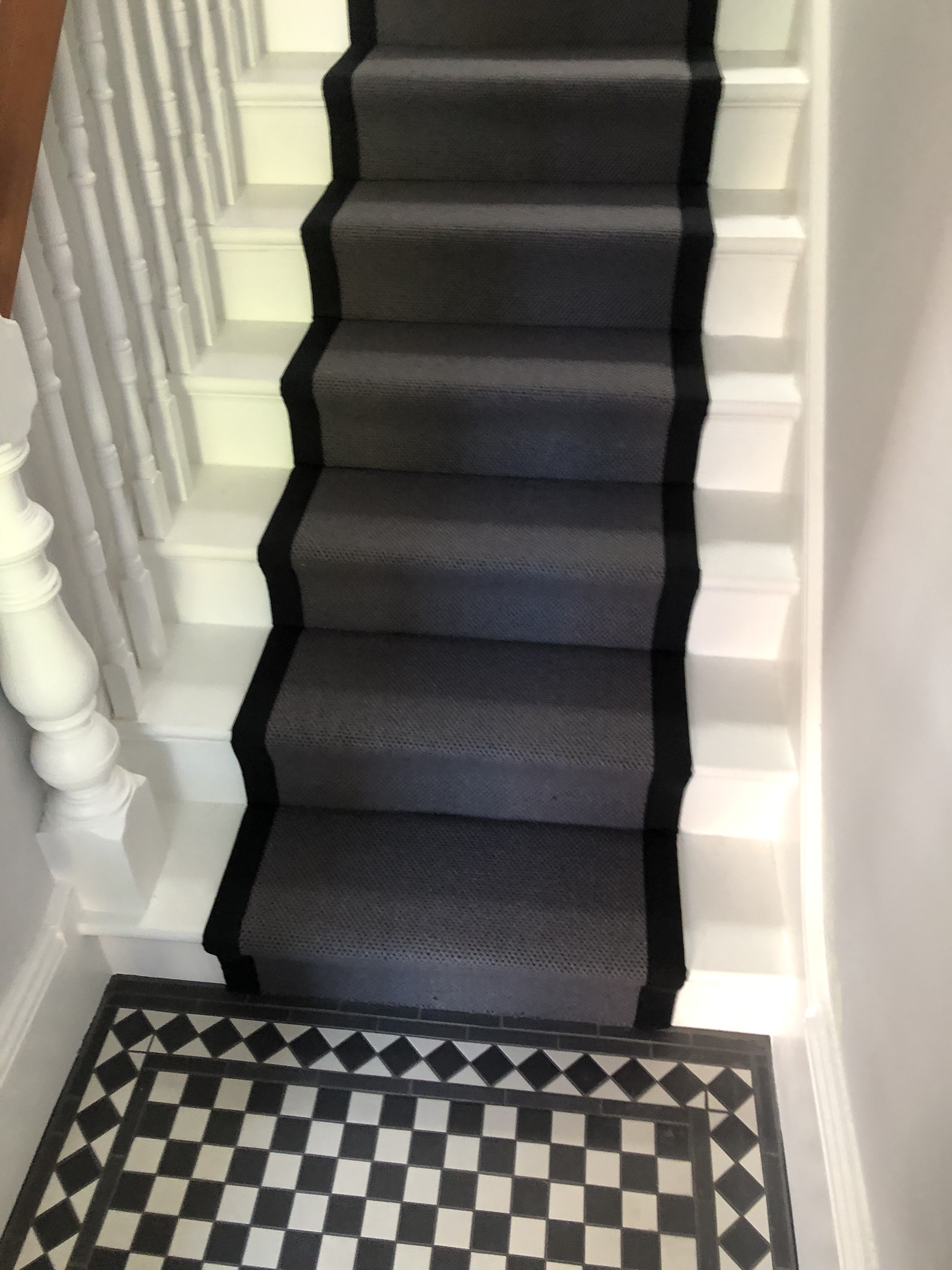 portfolio-Fibre Herringbone Wool Carpet Installed In Finchley (4)