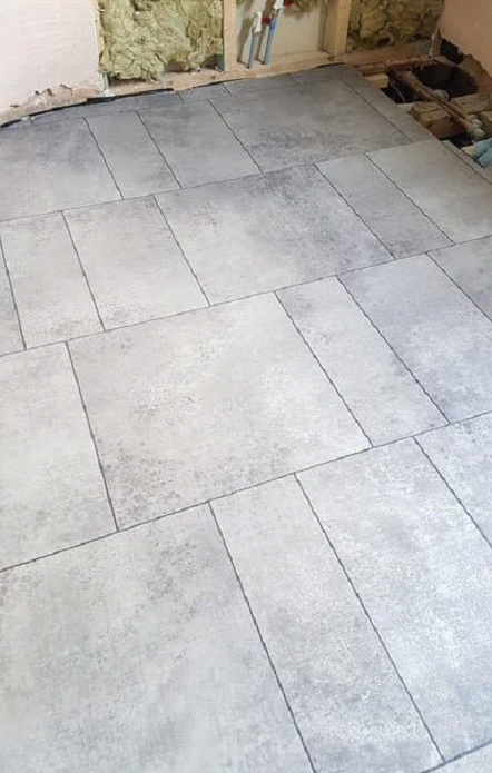 Amtico Signature Kura Caraway Vinyl Tiles Installed in Chelsea 2