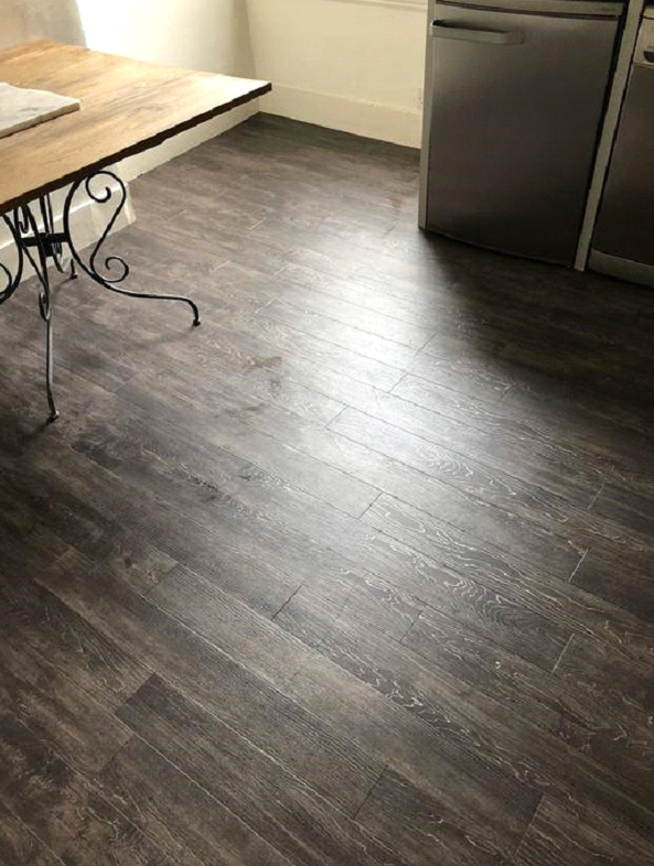 Amtico Signature Script Maple Silver Wood Effect Vinyl Flooring in Southwark 2