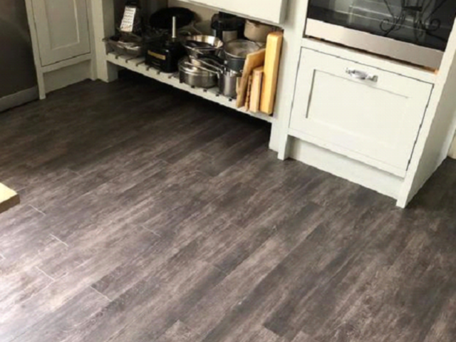 Amtico Signature Script Maple Silver Wood Effect Vinyl Flooring in Southwark