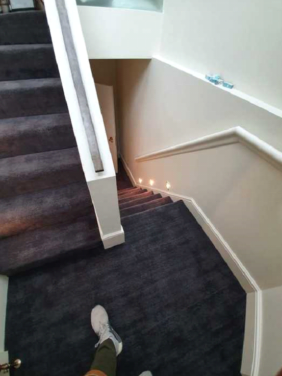 Dark carpet installed to premises in Barnes 5