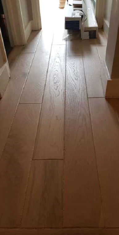 Staki Wood Flooring in Chestnut Colour in Wimbledon 1