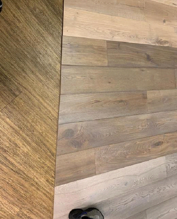Staki wood floors installed to own Islington Flooring showroom 5