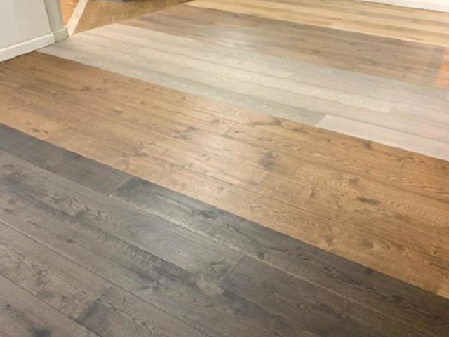 Staki Wood Floors Installed To Own Islington Flooring Showroom in Islington