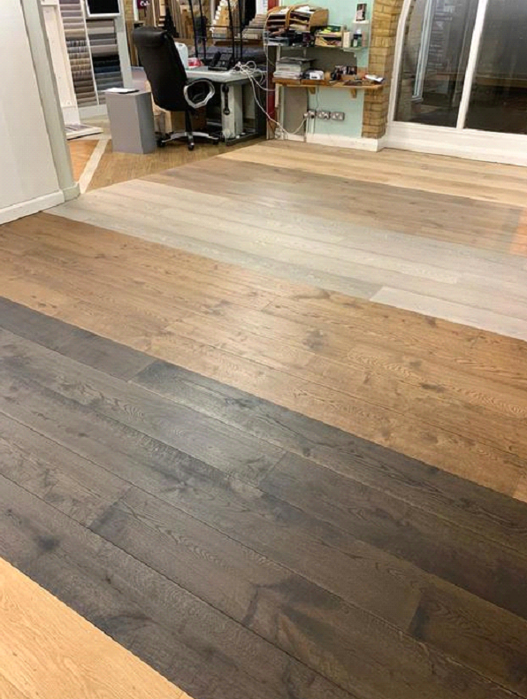 Staki wood floors installed to own Islington Flooring showroom 7