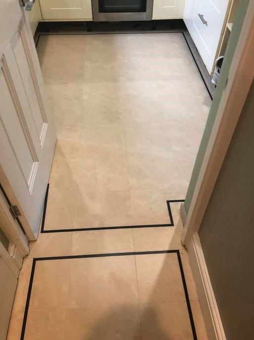 Amtico Luxury Vinyl Tile Flooring Installed in Wimbledon 2