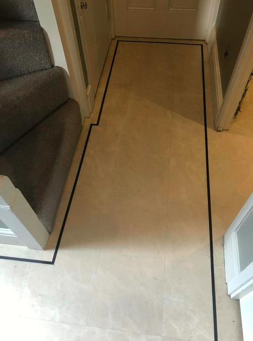 Amtico Luxury Vinyl Tile Flooring Installed in Wimbledon 3