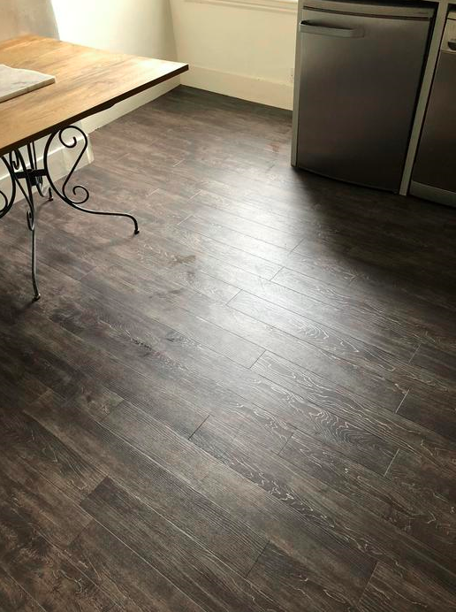 Amtico Spacia Canopy Oak Luxury Vinyl Tile Flooring Installed in Wandsworth 1