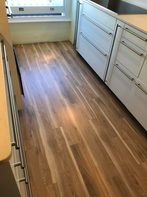 Amtico Spacia Canopy Oak Luxury Vinyl Tile Flooring Installed in Wandsworth 3