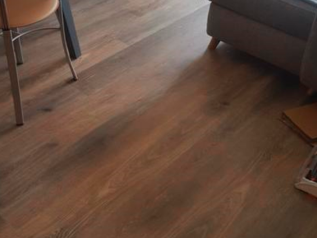 Amtico Spacia Hampton Oak Luxury Vinyl Tile Flooring Installed in Wimbledon
