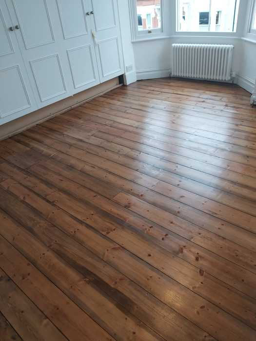 Sand and Seal Wood Flooring Installed in Putney 2