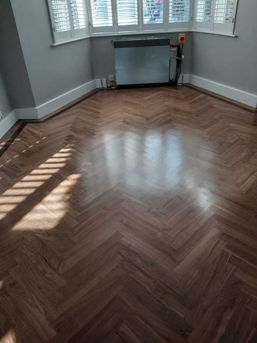 Sand and Seal Wood Flooring Installed in Putney 3