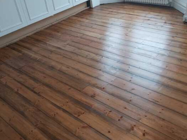 Sand and Seal Wood Flooring Installed in Putney
