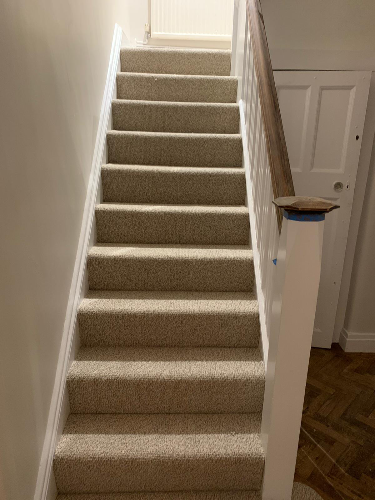 To supply & install light carpet to premises in Acton 1