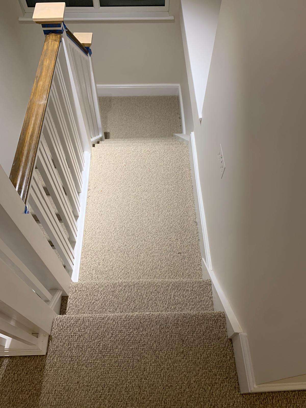 To supply & install light carpet to premises in Acton 2