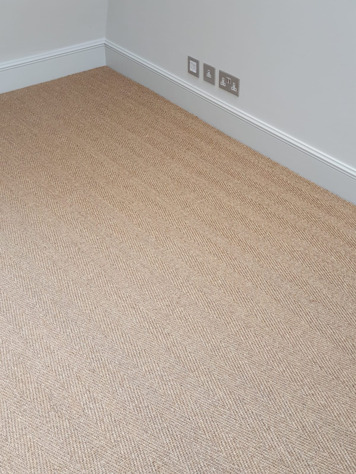 Brown Sisal Carpet In Southwark 3