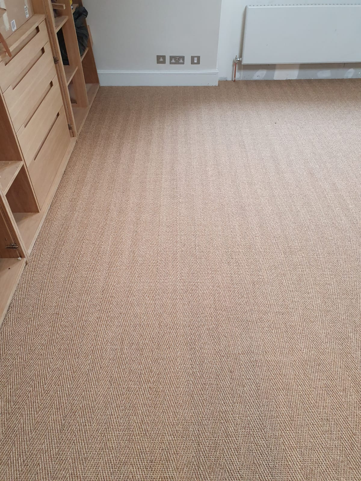 Brown Sisal Carpet In Southwark 6
