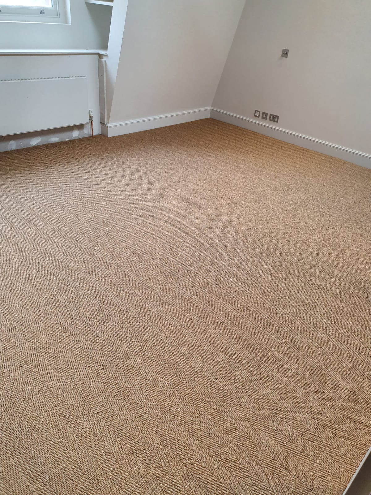Brown Sisal Carpet In Southwark 7