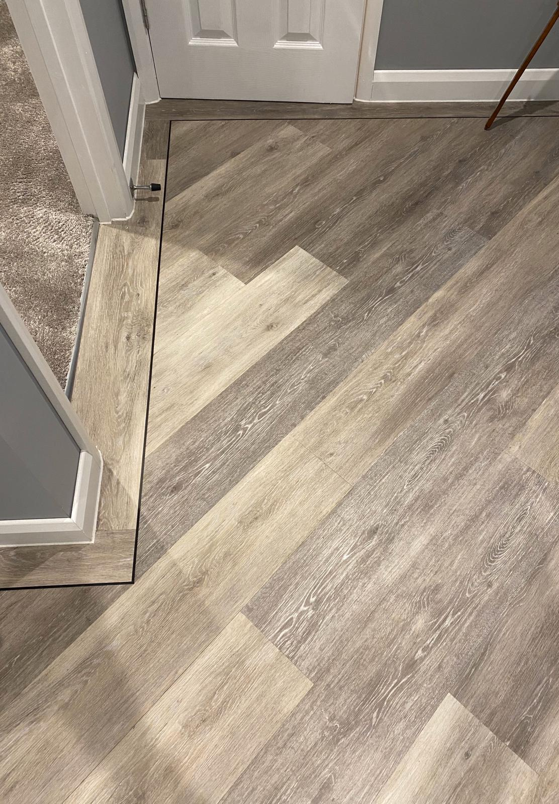Brief: To supply & install Amtico Signature Lime Washed Wood Luxury Vinyl Tile 3