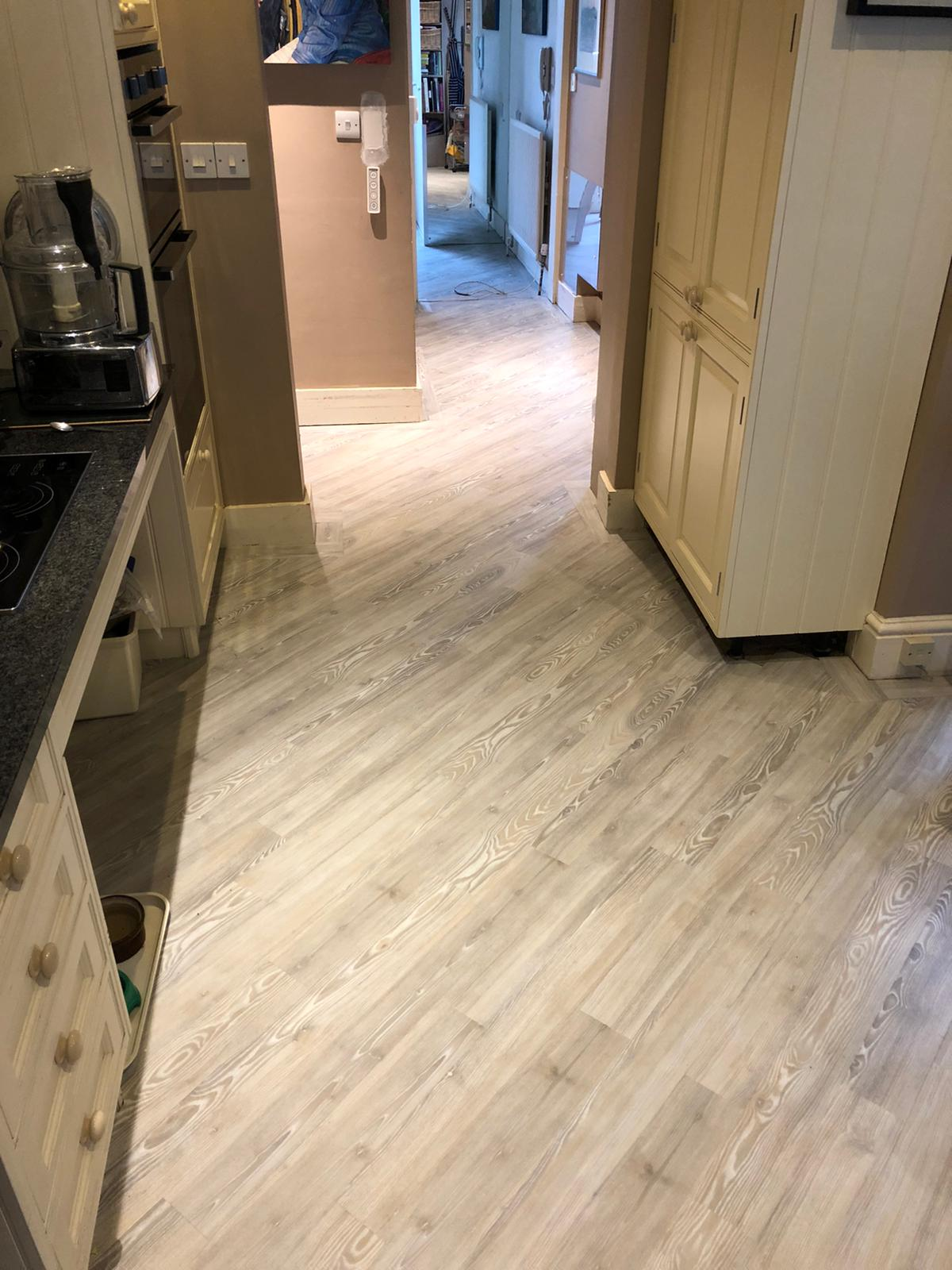 Brief: To supply & install Amtico Signature Lime Washed Wood Luxury Vinyl Tile 2