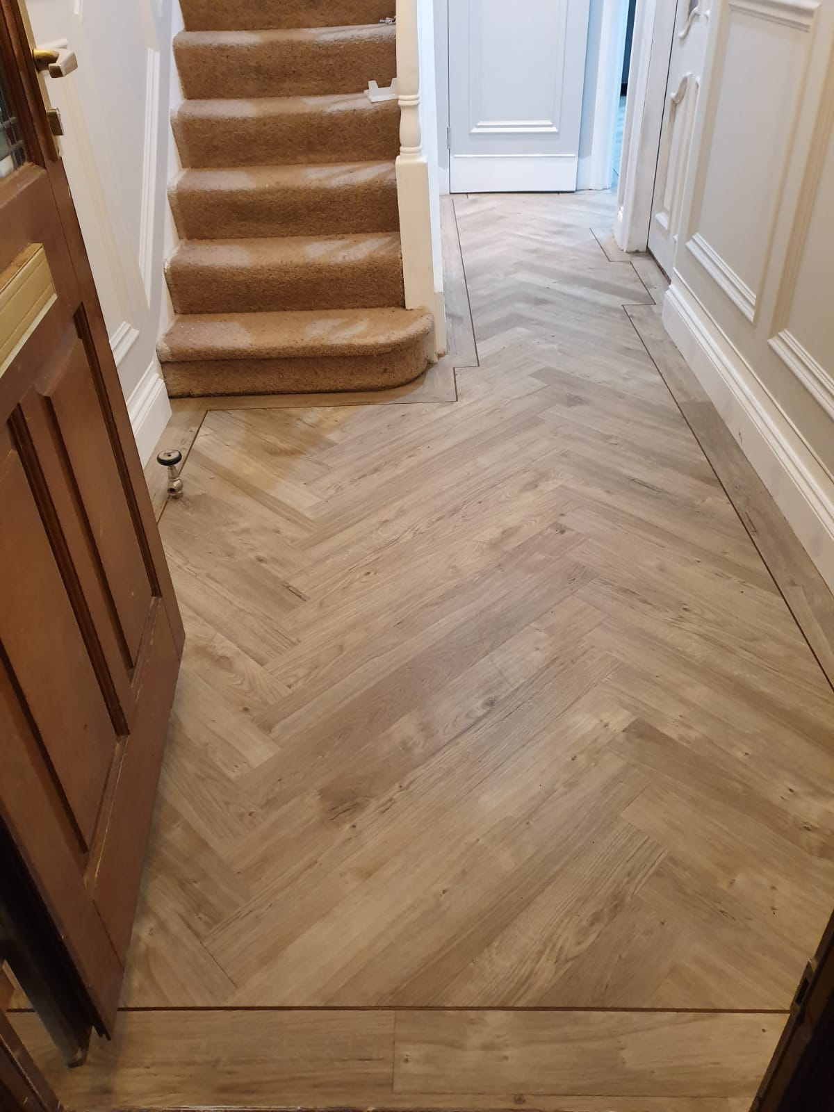 Amtico Spacia Sun Bleached Oak Luxury Vinyl Tile 3