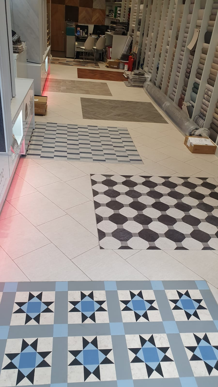 Amtico Floors to Kensington Flooring 1