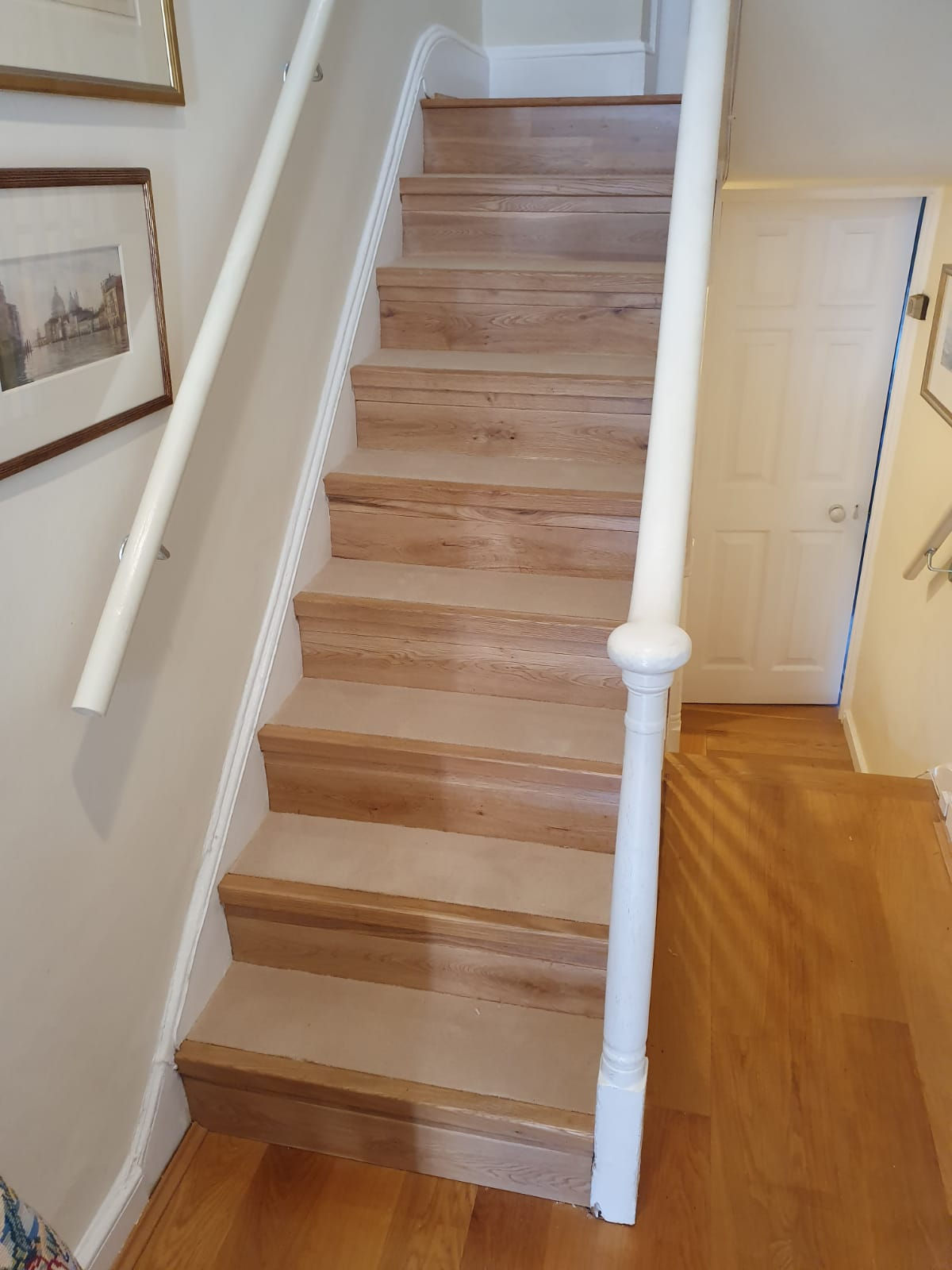 Carpet to Treads on Stairs 2