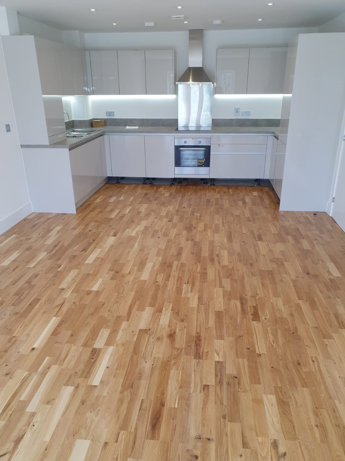 3-Strip Engineered Wood Flooring 2