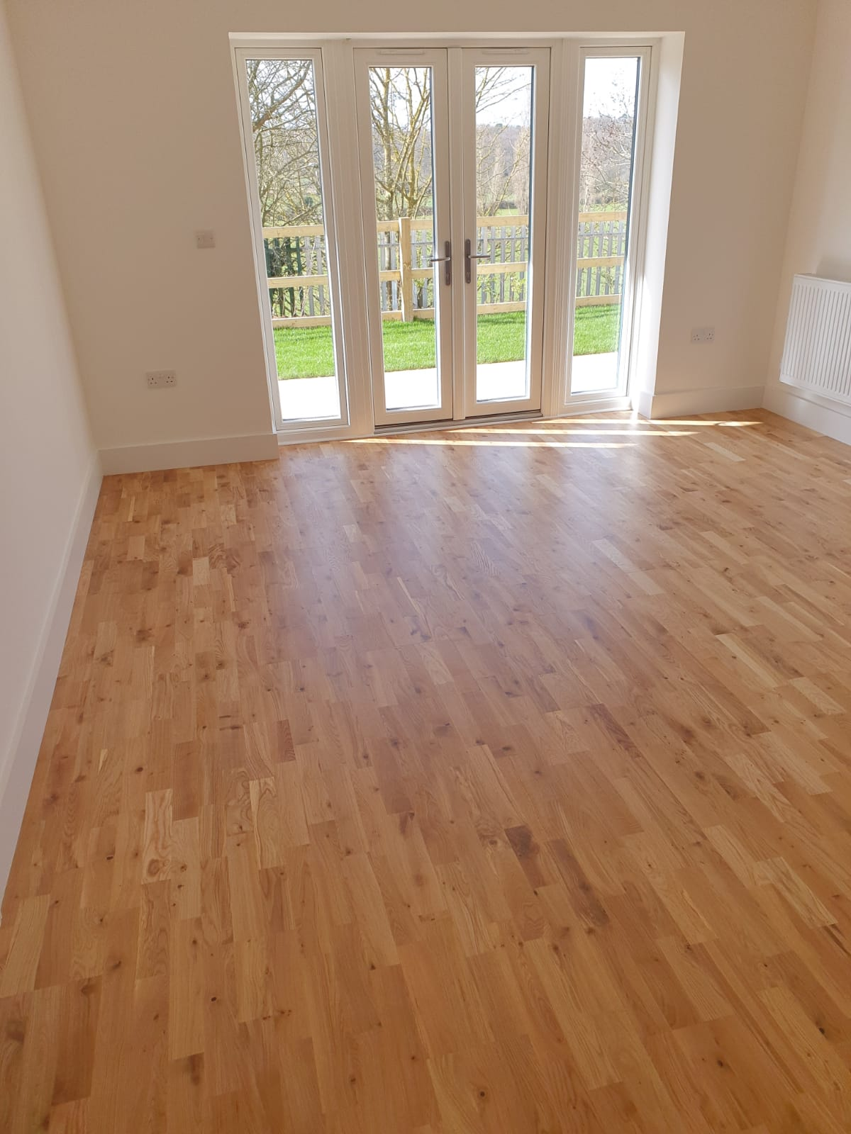3-Strip Engineered Wood Flooring 3