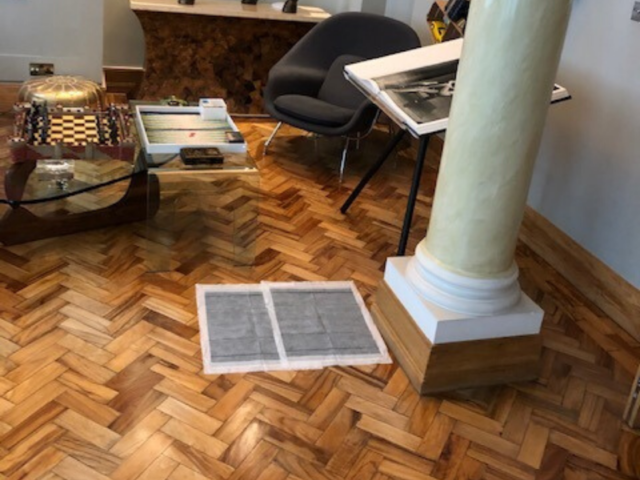 Sand and Seal Selected Areas of Wood Flooring