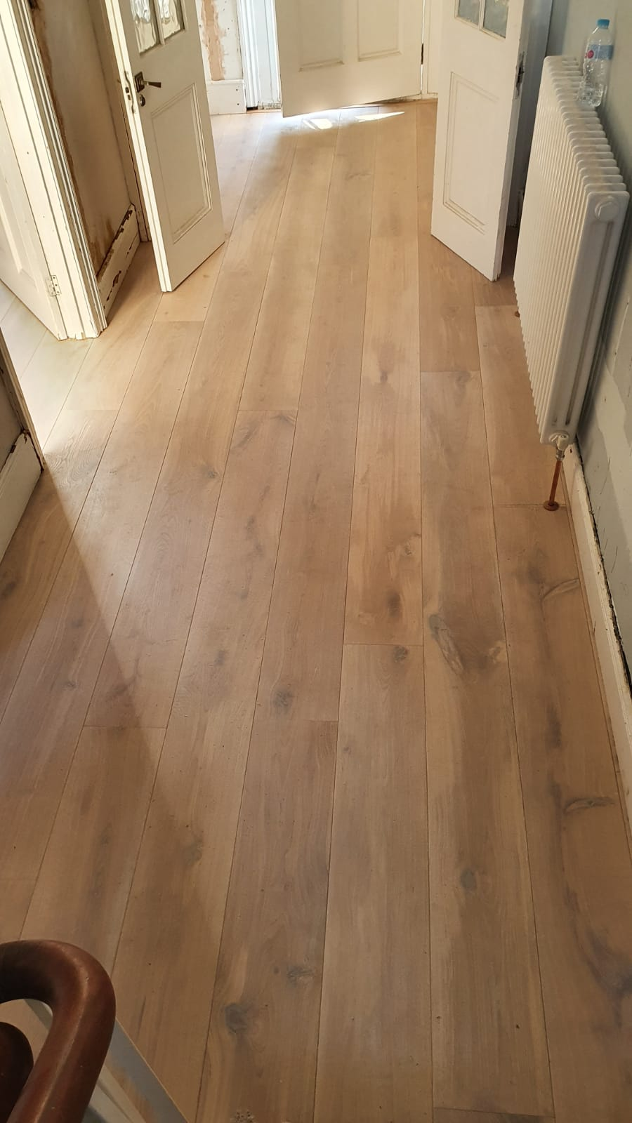 Staki Brushed & White Oil Wood Flooring 4