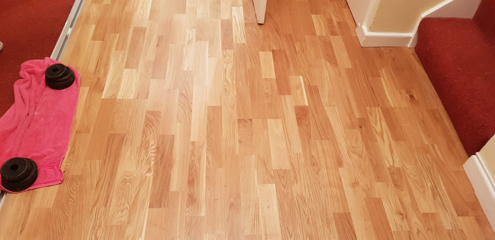 3-Strip Wood Flooring In Wandsworth 1