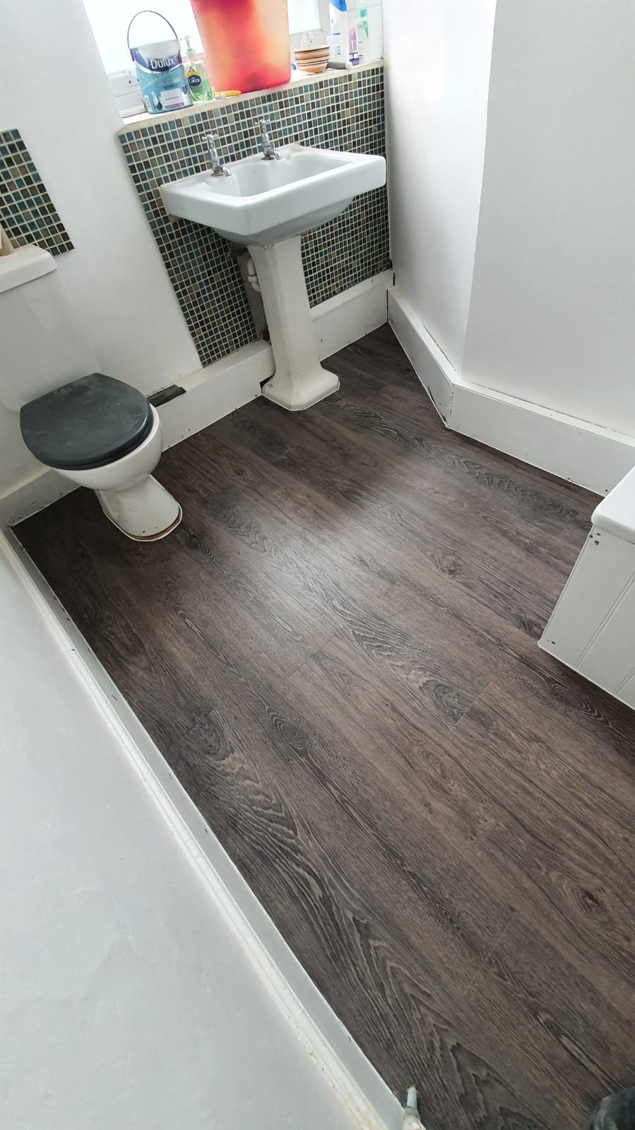 Amtico Spacia Bruges Oak Luxury Vinyl Tile in Islington 2